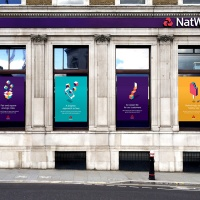 """Futurebrand ECD Dan Witchell says the aim was to create graphics which would stand out on """"the visually 'noisy' high street"""""""