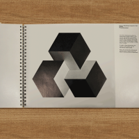 A symbol in Natwest's original 1968 brand guidelines inspired the company's updated logo. The cubes also formed the starting point for a series of graphic illustrations