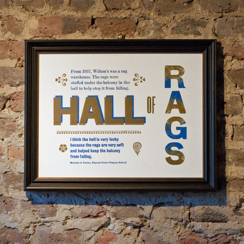 new north press s posters and signage for wilton s music hall