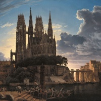 Karl Friedrich Schinkel's Cathedral Towering of a Town