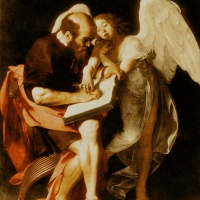 Caravaggio's Saint Matthew and the Angel