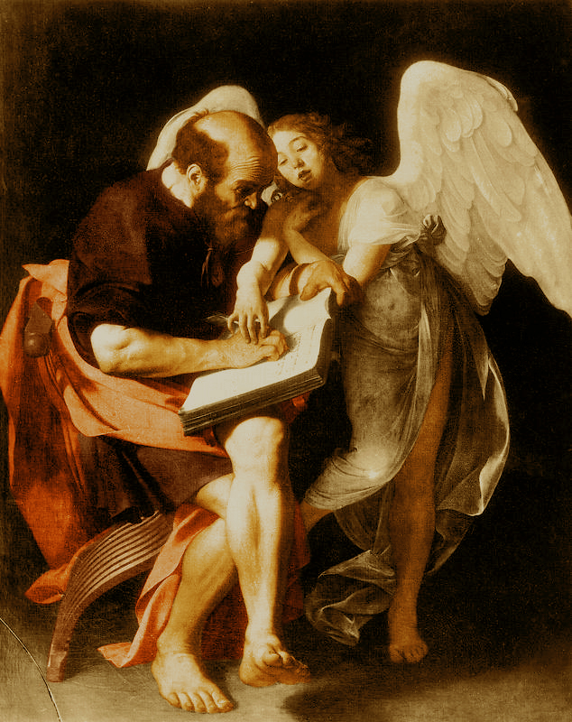 Caravaggio's Saint Matthew and the Angel
