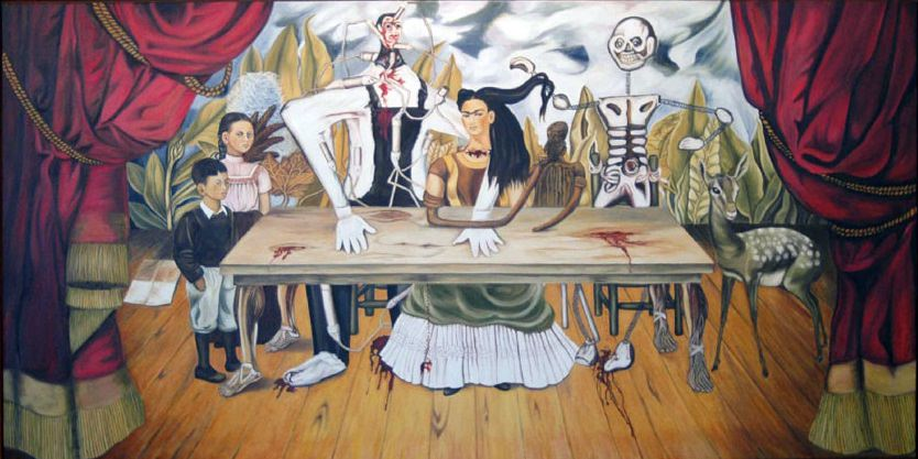 Frida Kahlo's The Wounded Table