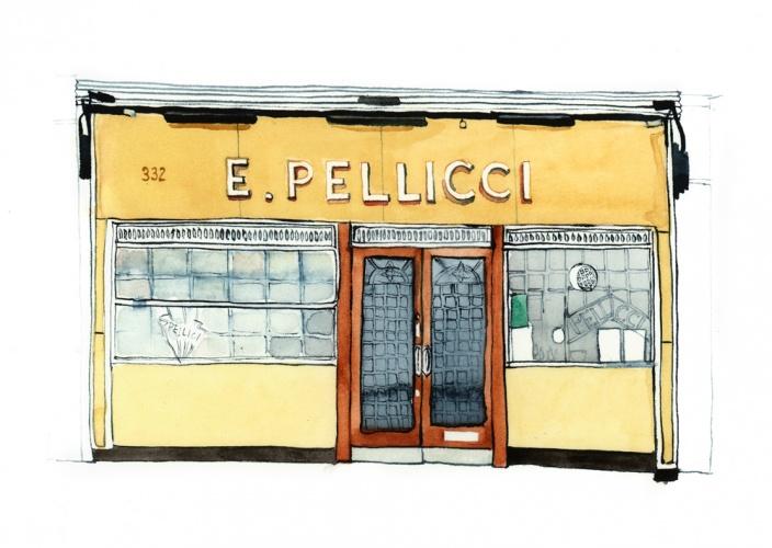 Shopfront by Eleanor Crow