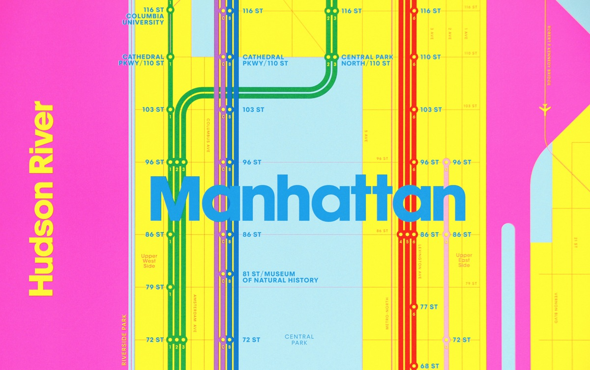 Subway Map 77 Street.Work Triboro Release Two Wrong Color Subway Maps Creative Review