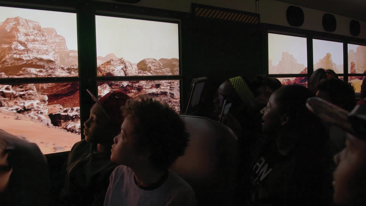 Our Mars, a group VR experience created by Framestore for Lockheed Martin for the 2016 USA Science and Engineering Festival