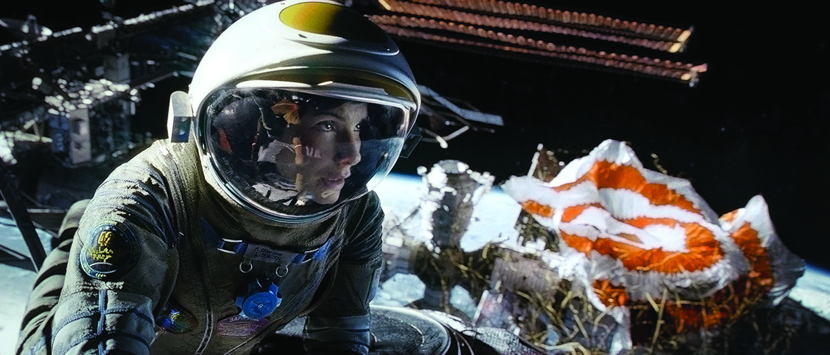 Still from Gravity. Framestore won an Oscar for Best Visual Effects for its work on the film