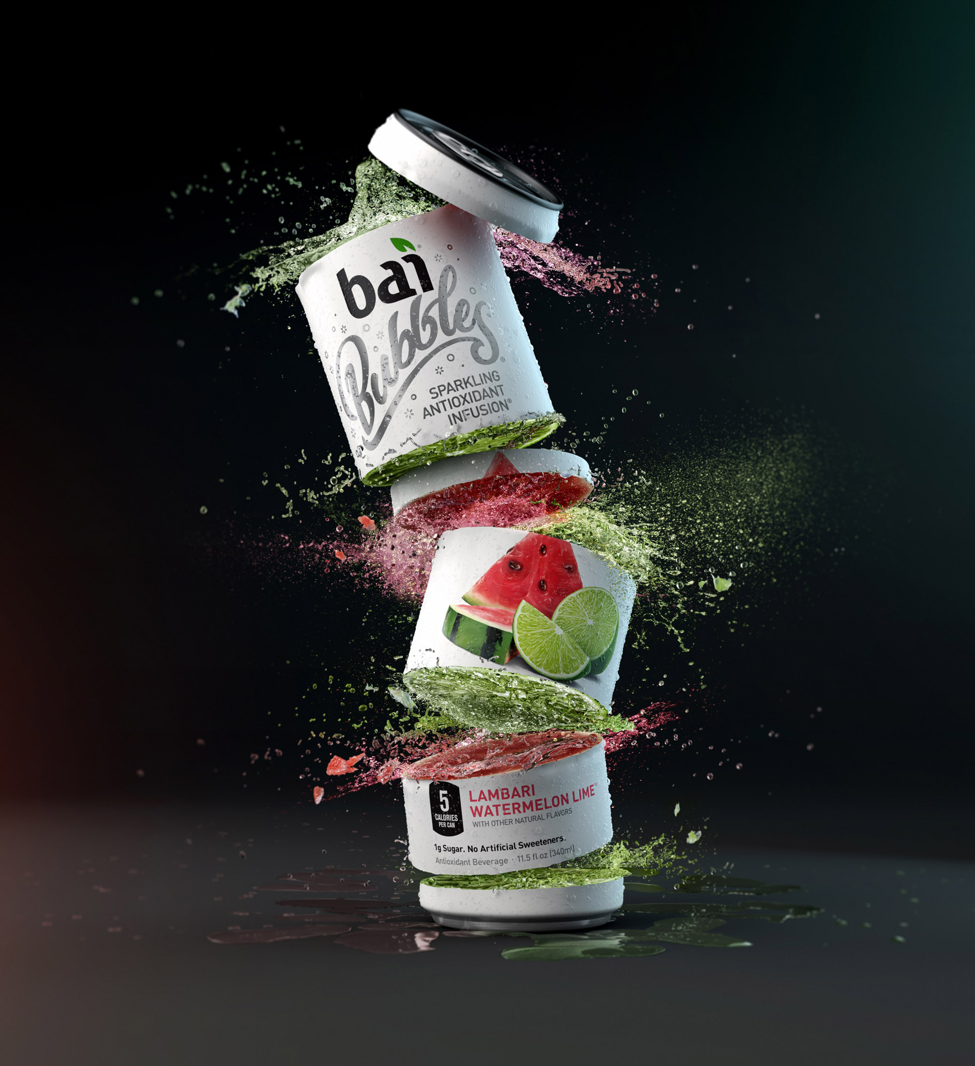 """bai Slices"" - Client: bai, CGI + Photography"