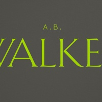 Funeral directors A.B. Walker's new logo features lettering based on an old sign found in its head offic in Reading