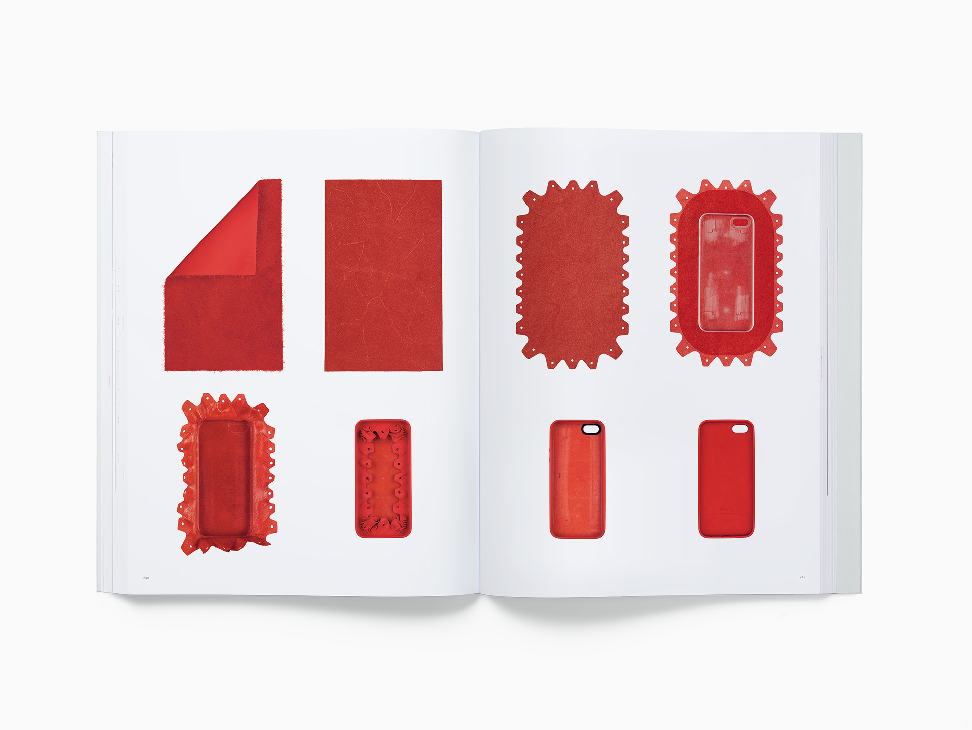 Spreads which offer an insight into apple product design