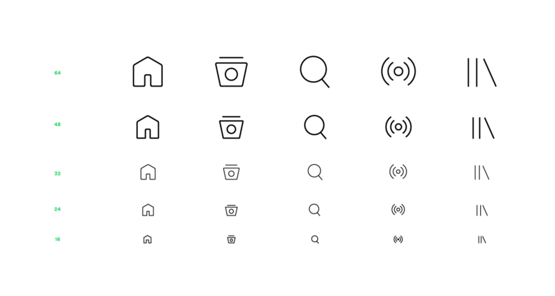 new spotify icon suite