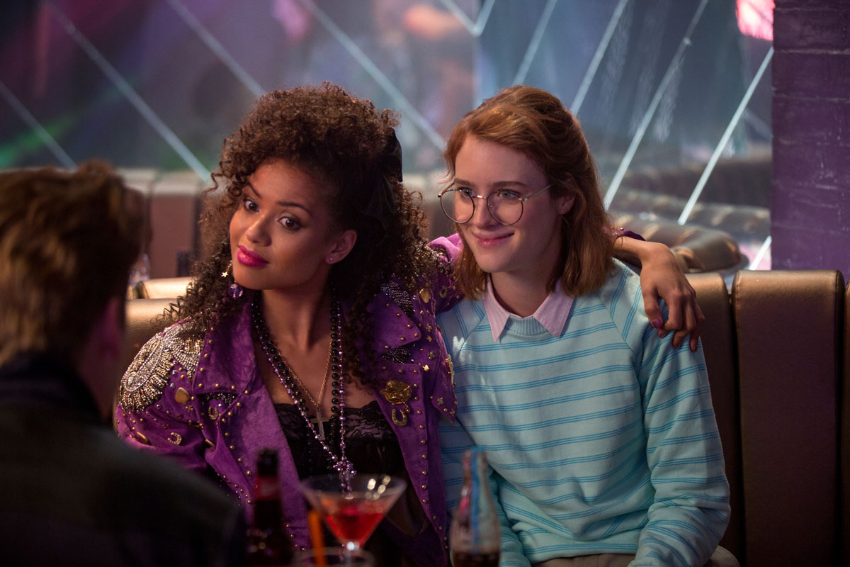 Black Mirror San Junipero Gugu Mbatha-Raw and Mackenzie Davis