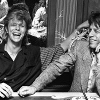Mick Jagger package includes this print of David Bowie and Mick Jagger at a private function in London in 1987. Captured by Denis O'Regan, this is the image Mick Jagger used in his tribute tweet the day after David's death on January 10th 2016. Donated by Ticketmaster. (Est value £5,000)