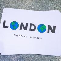 David Shrigley's #LondonIsOpen poster