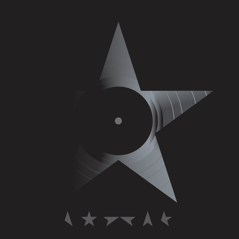 Vinyl edition of David Bowie's Blackstar album, designed by Jonathan Barnbrook