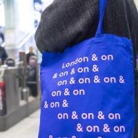 Jeremy Deller tote for #LondonIsOpen