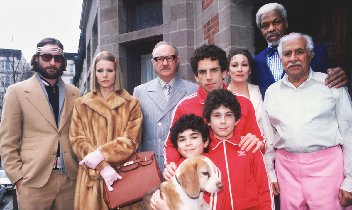 The mink fur coat worn by Gwyneth Paltrow in The Royal Tenenbaums (2001) was designed by Fendi (Touchstone Pictures/The Kobal Collection/James Hamilton).