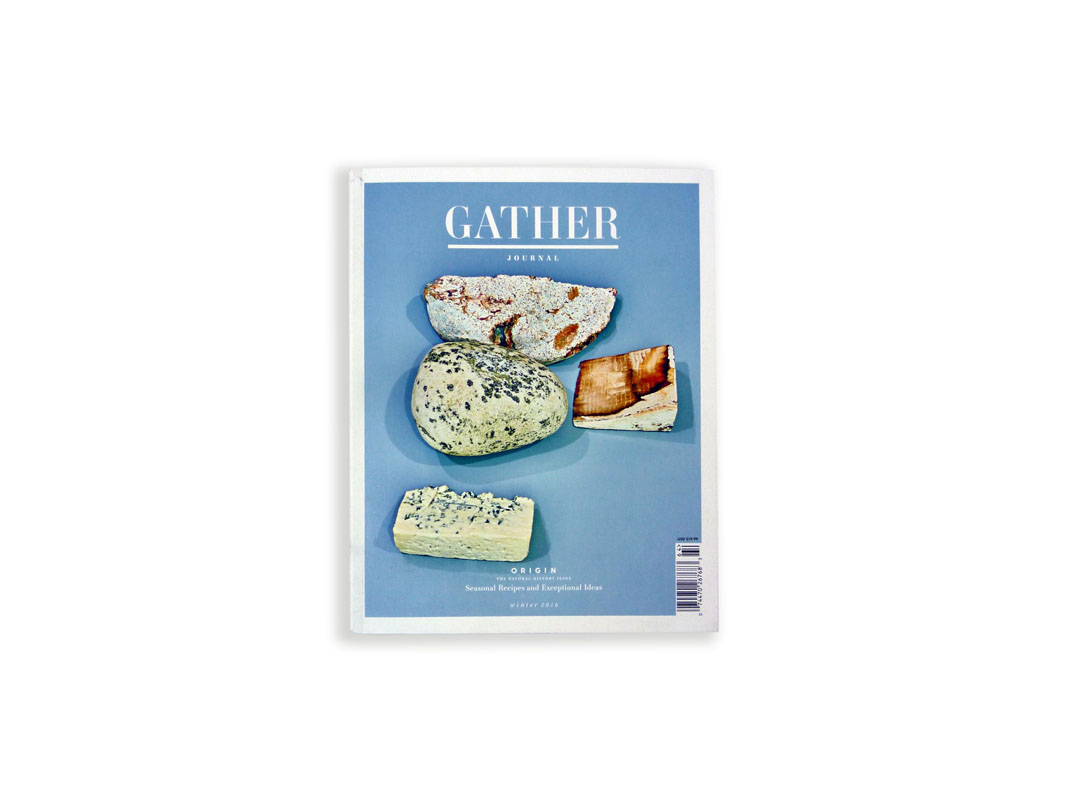 Gather Journal, winner of Best Use of Photography