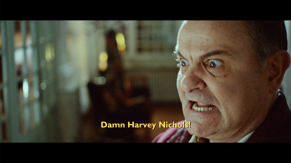 Harvey Nichols Italian Christmas ad