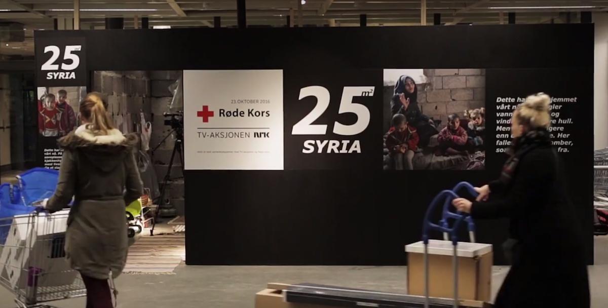 Norwegian Red Cross Ikea campaign
