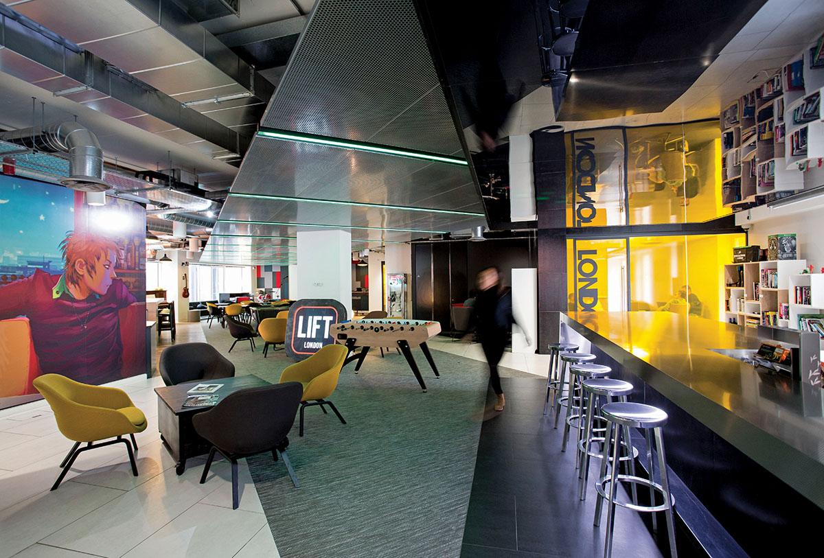 Inside Lift London, Pic by David McHugh