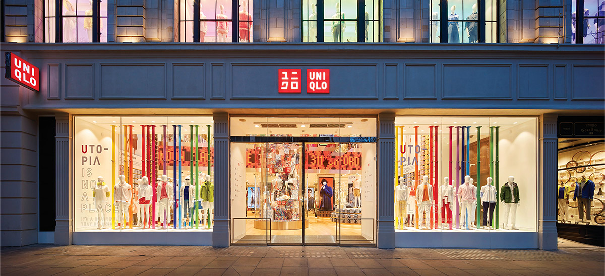 Uniqlo, Oxford Street, London (Image courtesy Hufton + Crow)