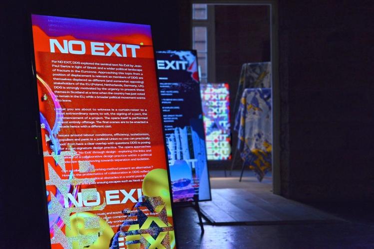 Design Displacement Group's exhibition at Graphic Design Festival Scotland