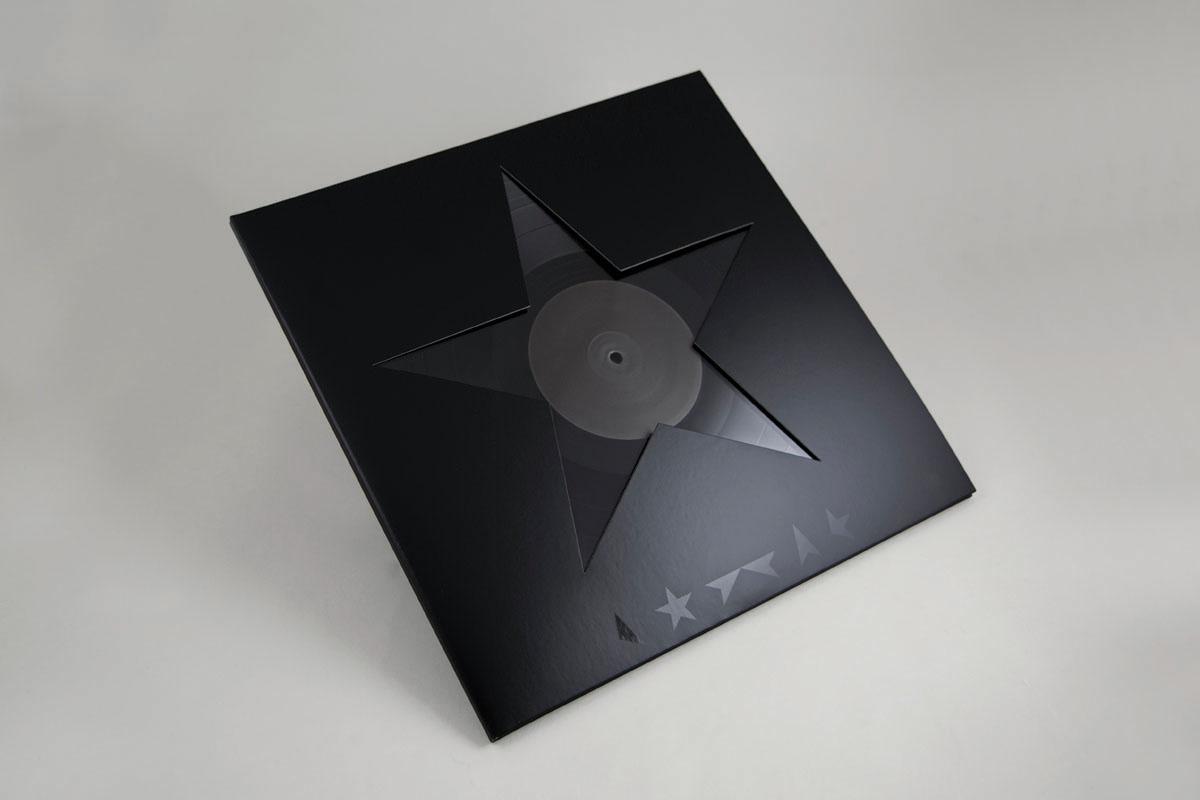 David Bowie's final album, Blackstar, is the first not to feature an image of the musician on its cover. Instead, there is only absence
