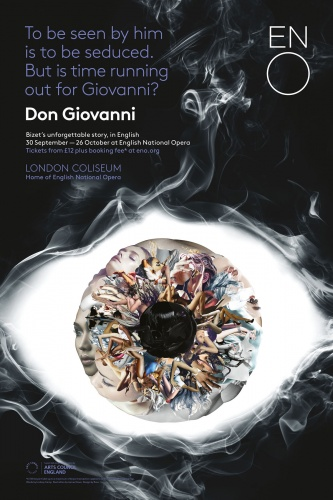 Don Giovanni poster featuring artwork by James Dawe