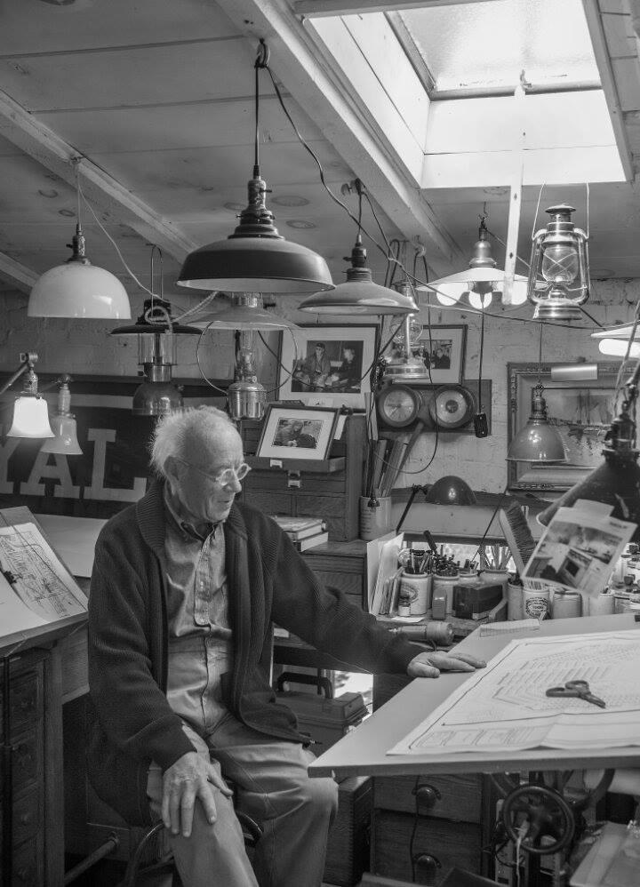 Saturday Night Live production designer Eugene Lee in his studio. Photo: Ron Manville