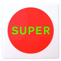 Pet Shop Boys, Super. Artwork by Farrow