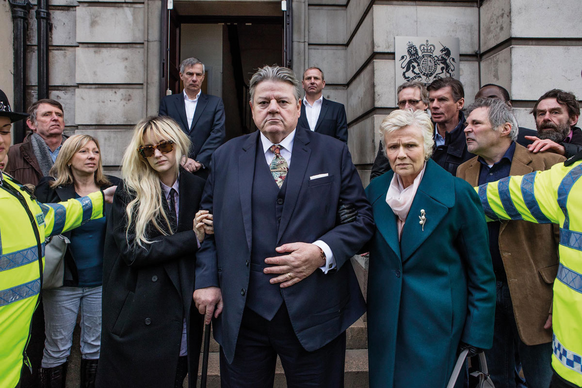 Still from National Treasure, starring Robbie Coltrane and Julie Walters (pictured). Image courtesy of Channel 4