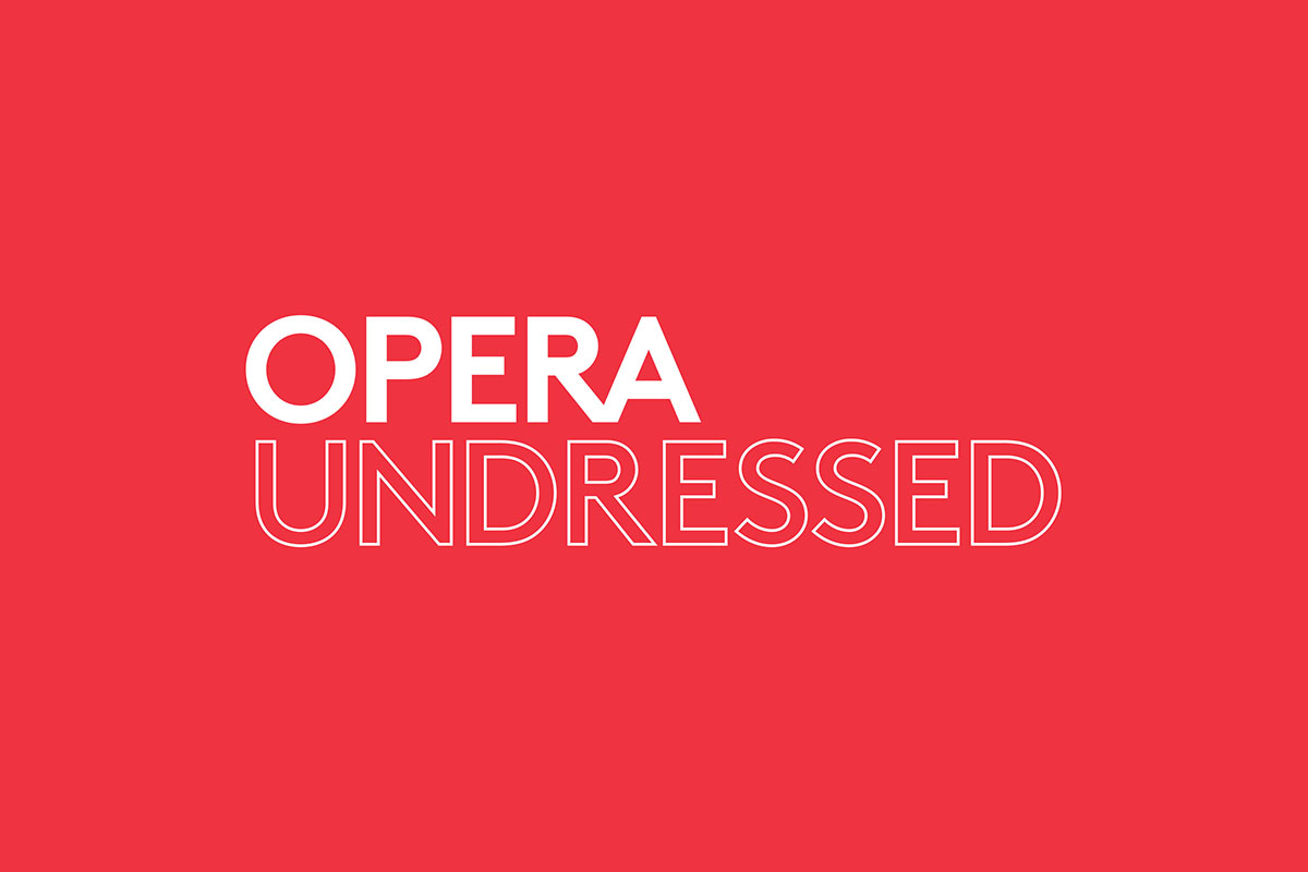The Opera Undressed logo