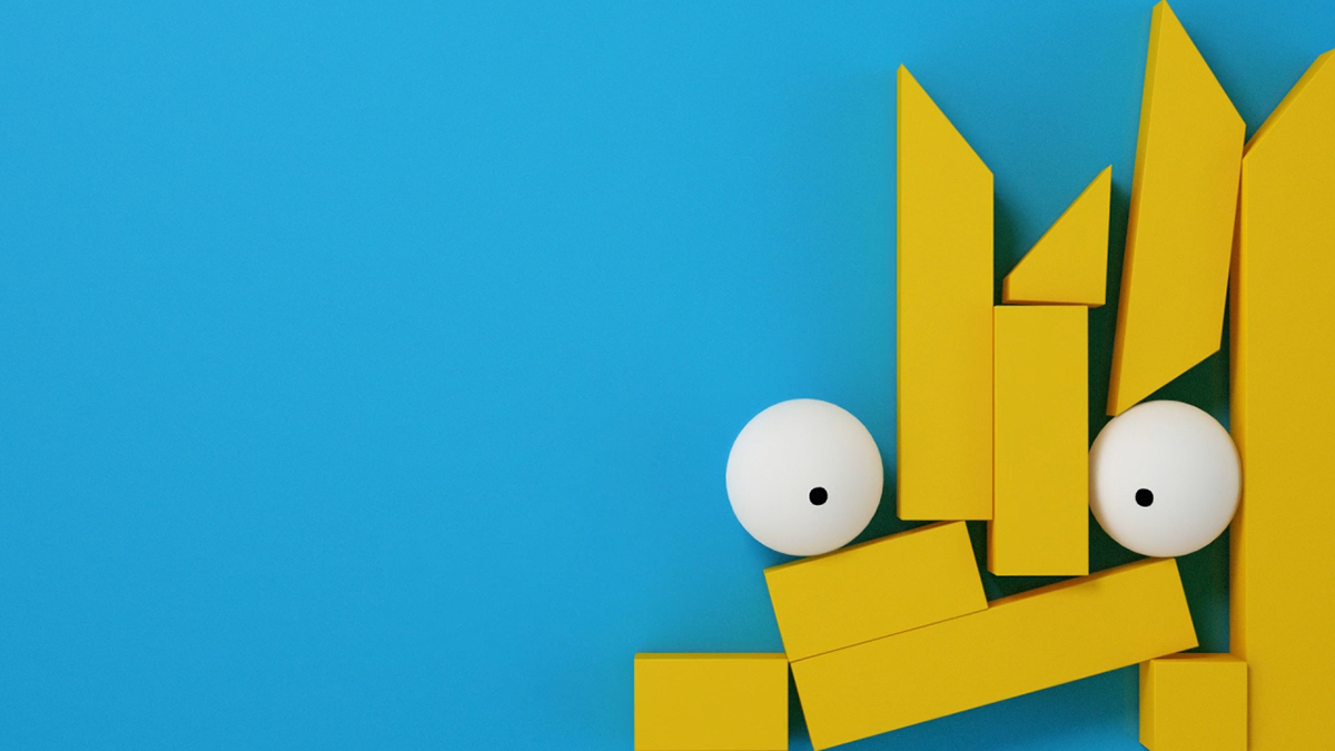 Simpsons identity created by 4Creative
