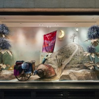 Hermes christmas windows 2016