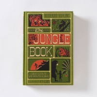 The Jungle book illustrated by MinaLima