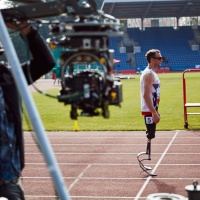 Making of the Paralympics spot