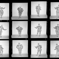 Scary Monster Contact Sheet #2, London 1980; Photo Duffy © Duffy Archive