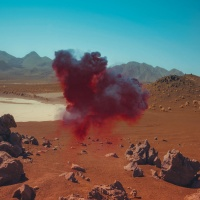 Neil Krug's images of the Mojave desert for Bonobo album Migration