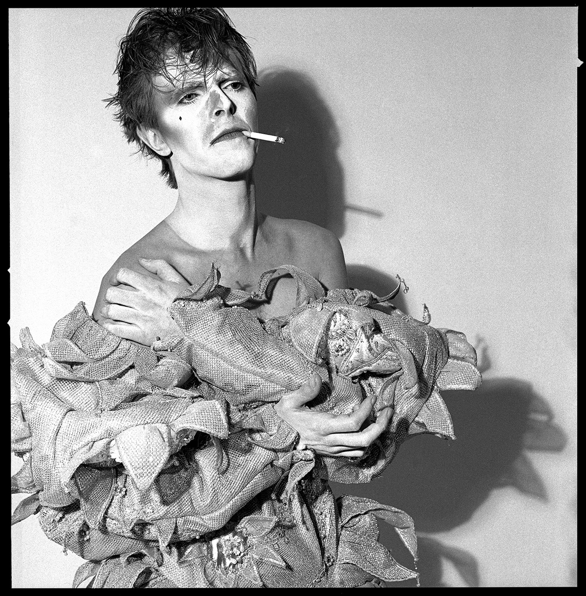 David Bowie Scary Monster smoking, London 1980; Photo Duffy © Duffy Archive