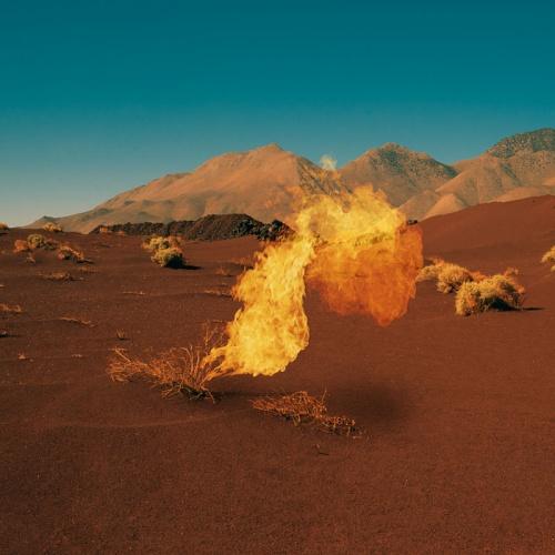 Neil Krug's images of the Mojave desert for Bonobo album Migration