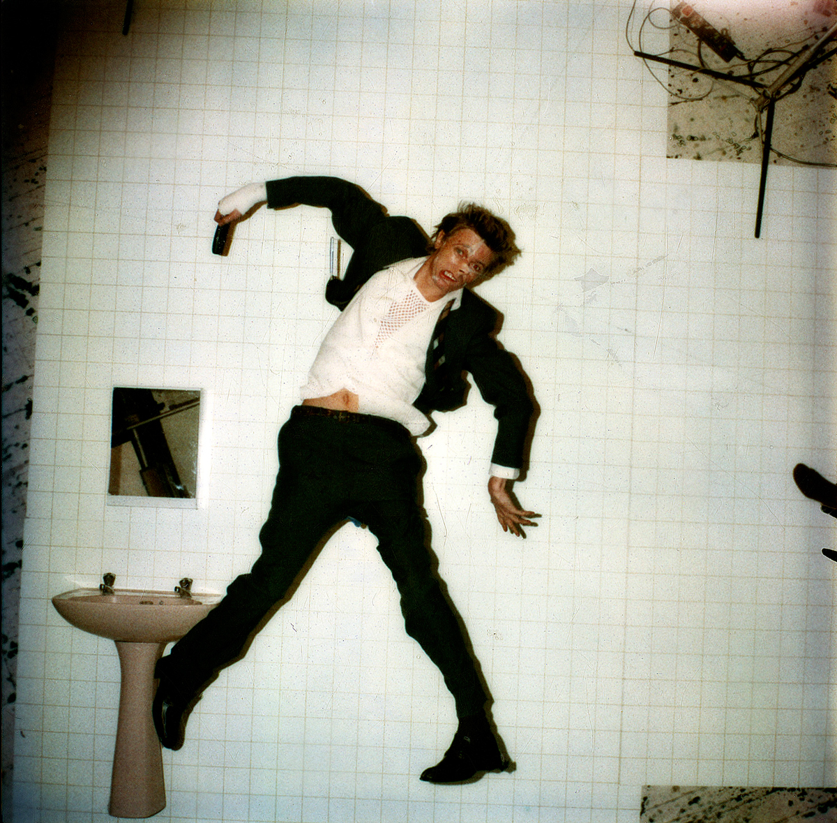 David Bowie – Lodger 'Original Polaroid' image, London 1979; Photo Duffy © Duffy Archive