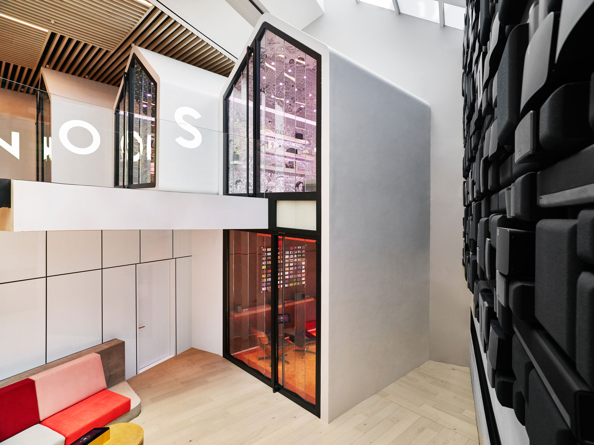 Inside the Sonos store, designed by Partners & Spade; partnersandspade.com