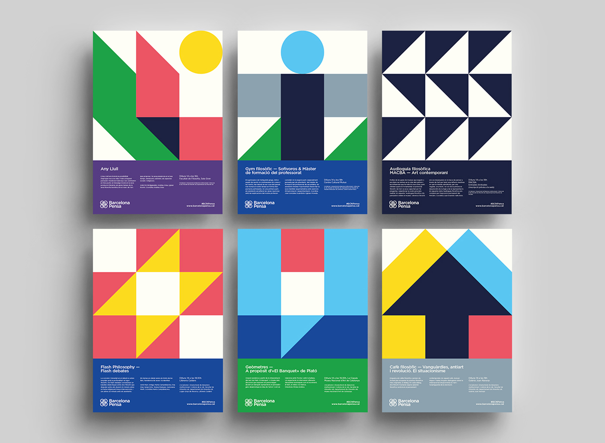 work barcelona philosophy festival posters by studio carreras previous