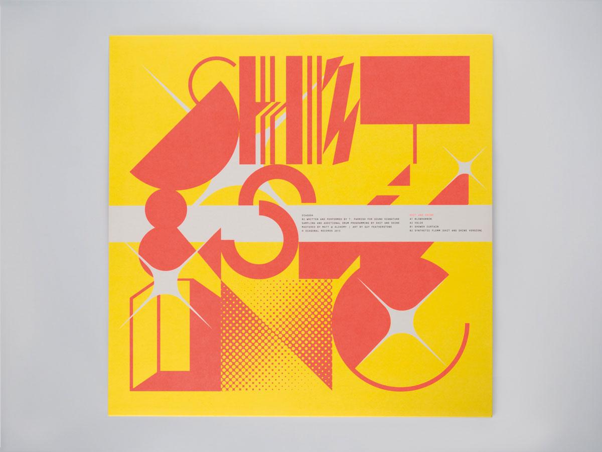 Shit and Shine, Shit and Shine, EP 2013 (DIAG004) - Back cover