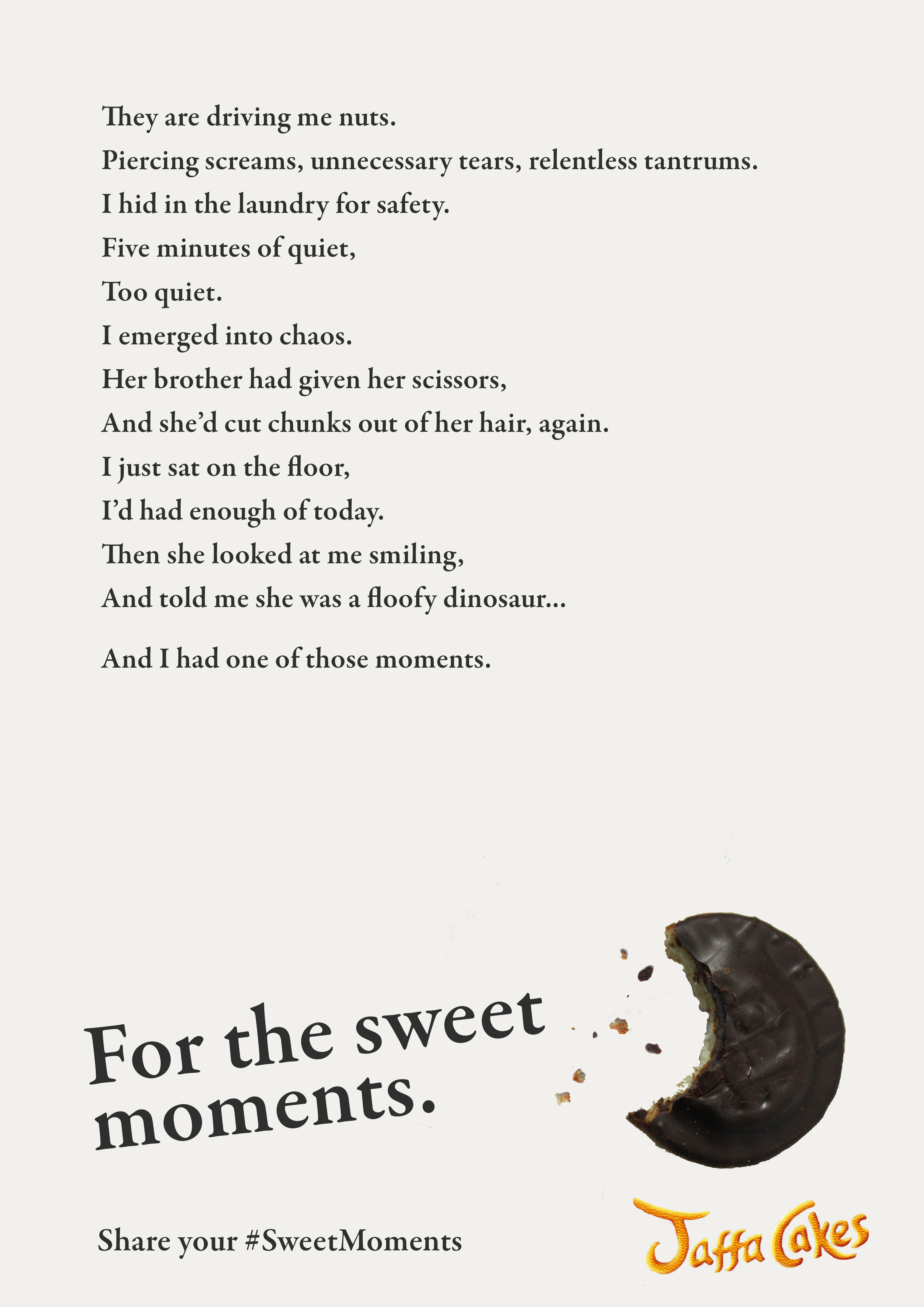 Jaffa Cakes campaign by Jemima Proudfoot