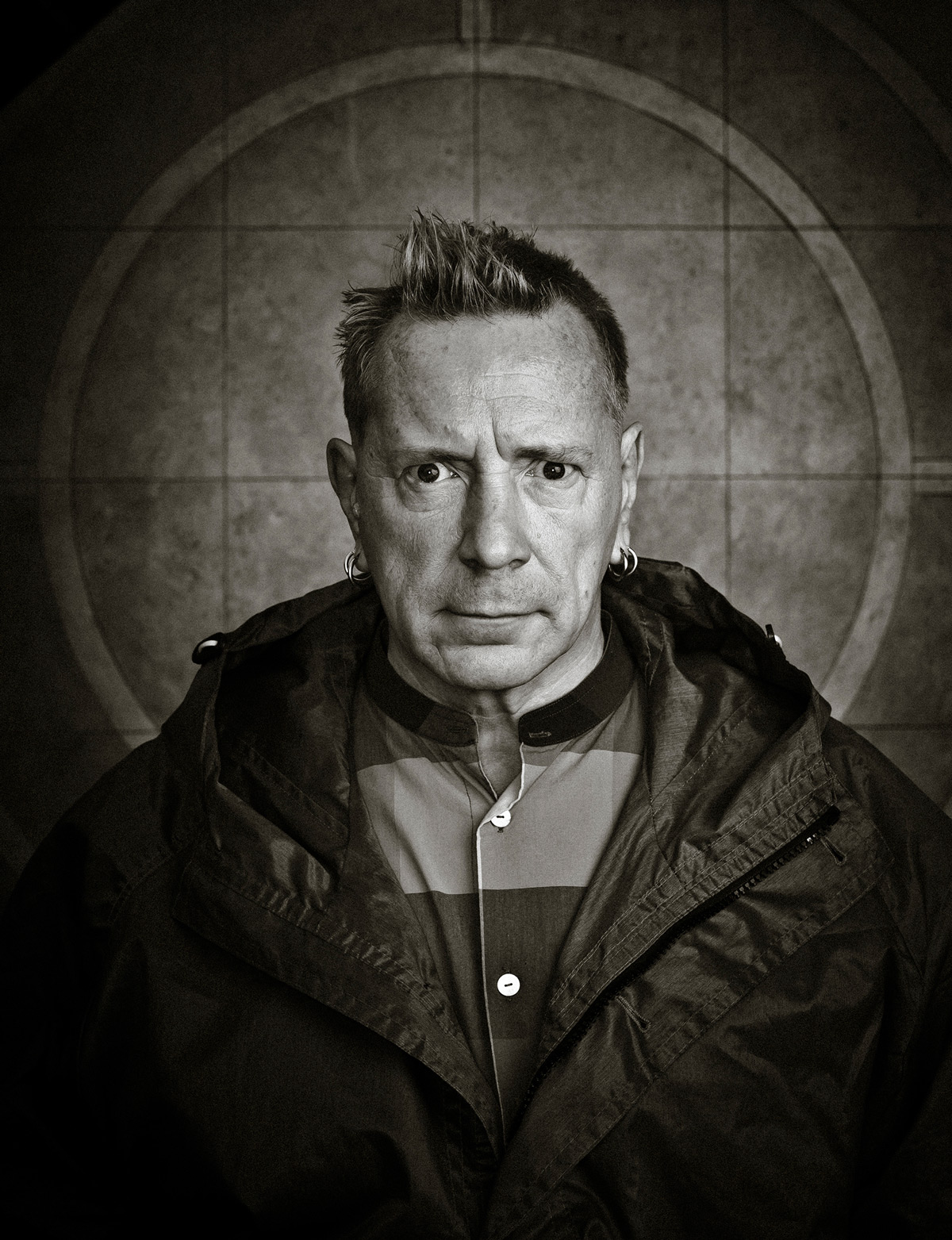 a portrait of John Lydon