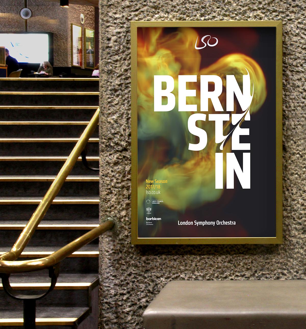 LSO Bernstein poster