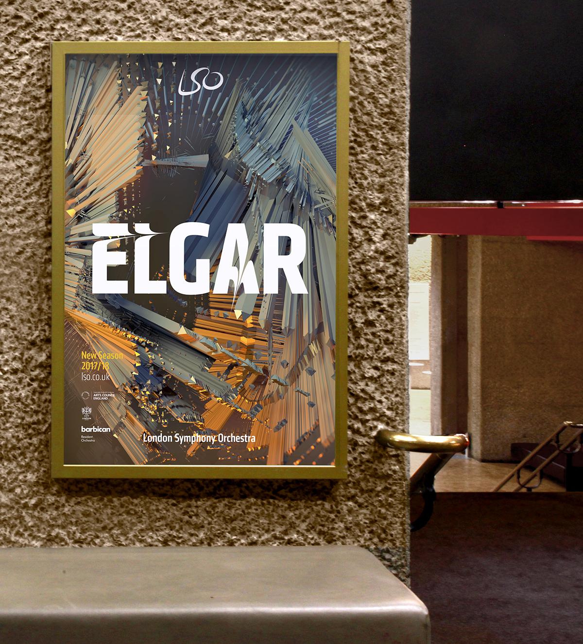 LSO Elgar poster