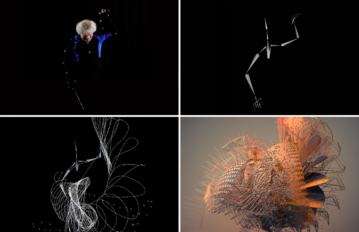 Rattle's movements were translated into motion graphics